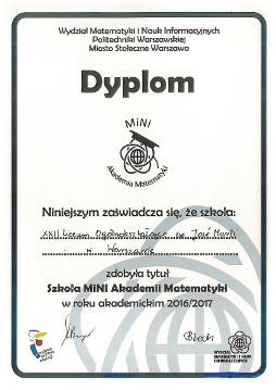 Dyplom mini akademi