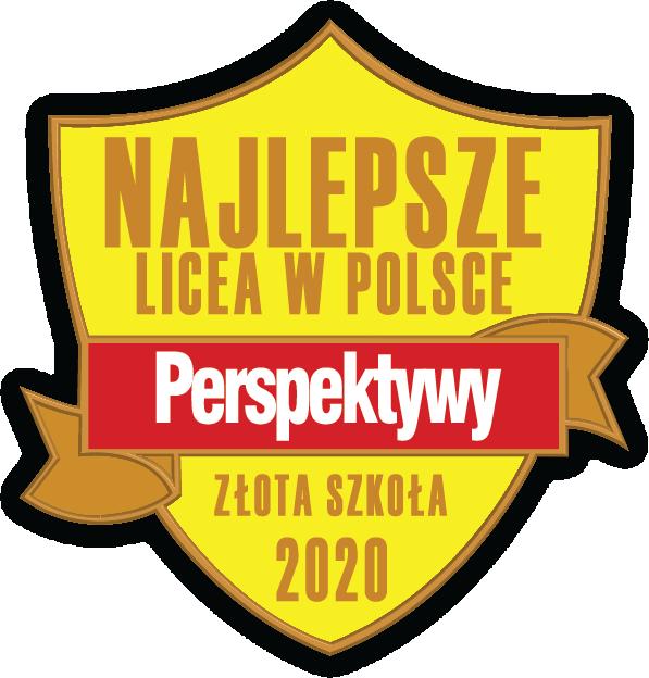 Logo złote liceum perspektywy